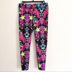 Fila Sport running leggings star pattern. medium